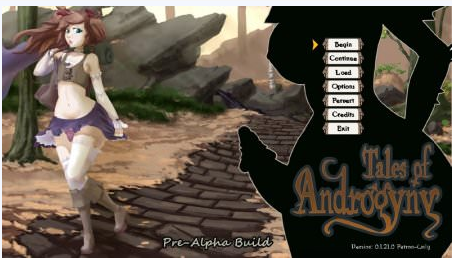Tales Of Androgyny 0.3.02.0PC Game Walkthrough Download for Mac