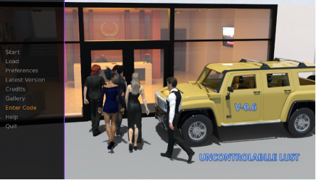 Uncontrollable Lust 0.8 PC Game Walkthrough Download for Mac