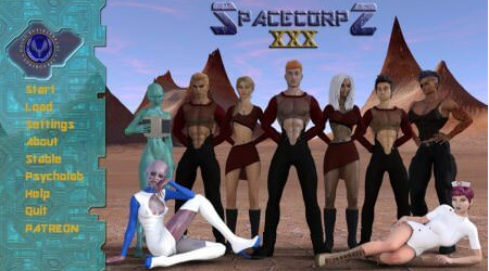 SpaceCorps XXX 0.3.4a PC Game Walkthrough Download for Mac