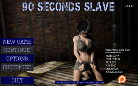 90 Seconds Slave 0.8.3PC Game Walkthrough Download for Mac