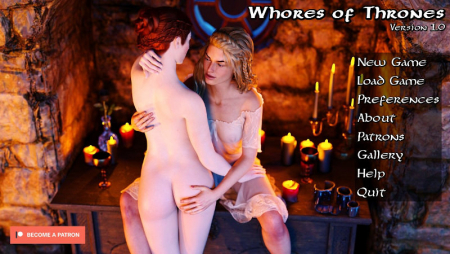 Whores of Thrones 1.12PC Game Walkthrough Download for Mac