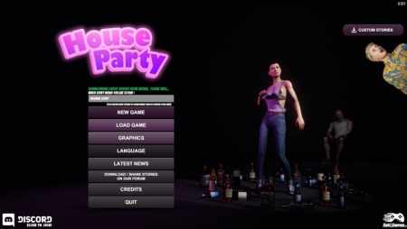 House Party 0.18.1PC Game Walkthrough Download for Mac